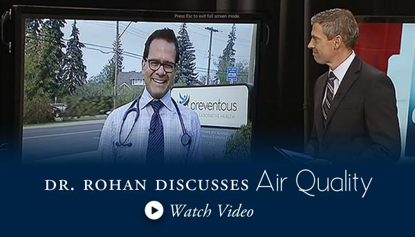 Dr Rohan discusses air quality